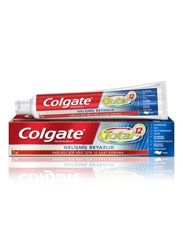 Colgate Colgate Total Gelişmiş Lık Diş Macunu 75 Ml Renksiz